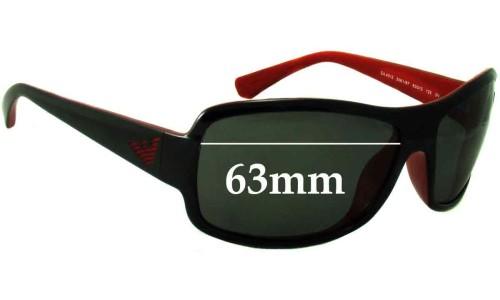 Emporio Armani EA4012 Replacement Sunglass Lenses - 63mm Wide