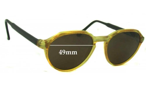 Fila Unknown 1 Replacement Sunglass Lenses - 49mm wide