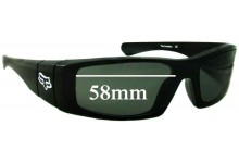Fox The Condition Replacement Sunglass Lenses - 58mm Wide  ** The Sunglass Fix Cannot Provide Lenses For This Model Sorry**