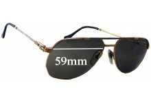 Fred Alize Americas Cup Replacement Sunglass Lenses - 59mm wide
