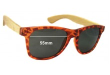 Gro Collection Replacement Sunglass Lenses - 55mm wide