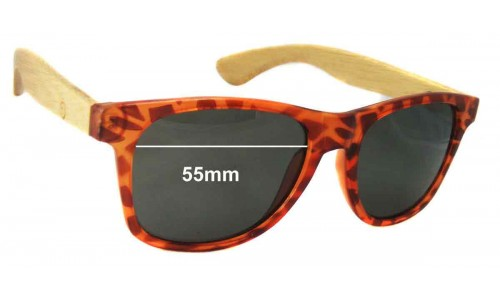 Gro Collection New Sunglass Lenses - 55mm wide