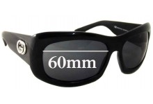 Gucci GG 2971/S Replacement Sunglass Lenses - 60mm wide