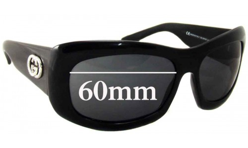 Gucci GG 2971/S New Sunglass Lenses - 60mm wide