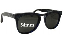 IDC Lunette 196-210 Replacement Sunglass Lenses - 54mm wide