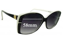 Jean Patou Paris Ref SP 39 New Sunglass Lenses - 58mm Wide
