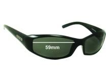 Killer Loop KL4145 Replacement Sunglass Lenses - 59mm wide