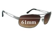 Killer Loop KL3208 Replacement Sunglass Lenses - 61mm wide