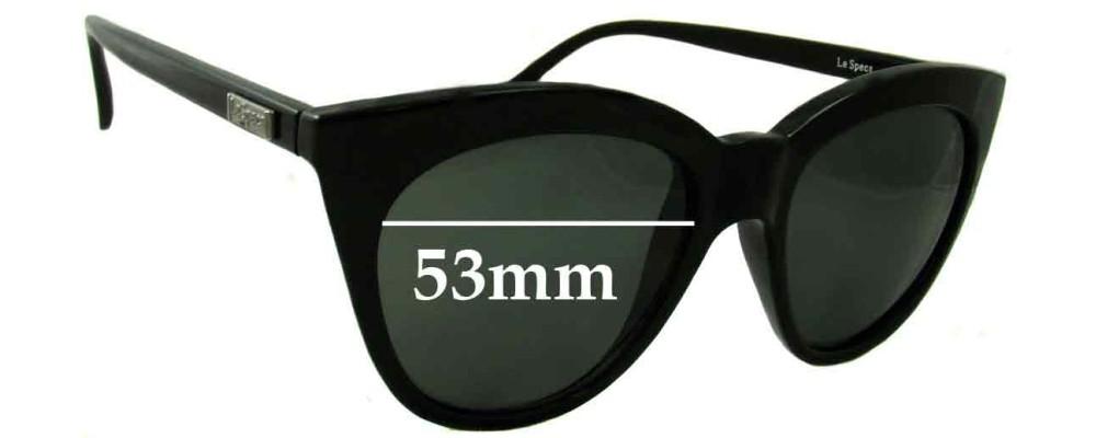 511e309f5e Le Specs Halfmoon Magic Replacement Sunglass Lenses - 53mm wide