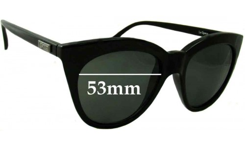 Le Specs Halfmoon Magic Replacement Sunglass Lenses - 53mm wide