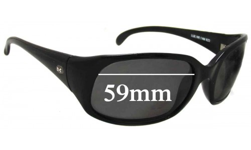 Mako Sublime 9466 Replacement Sunglass Lenses - 59mm Wide
