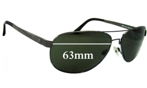 Mako Pacific 9565 Replacement Sunglass Lenses - 63mm Wide