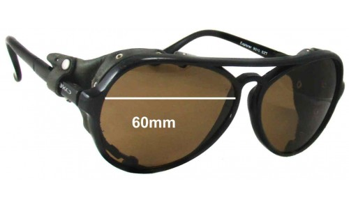 Mako Explorer New Sunglass Lenses - 60mm Wide