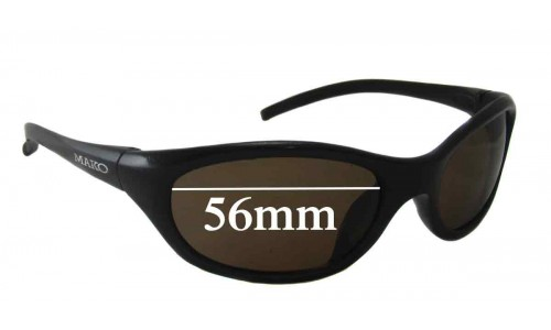 Mako X-Treme 9350 Replacement Sunglass Lenses - 56mm Wide