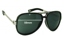 MARC BY MARC JACOBS MMJ 364S Replacement Sunglass Lenses - 59mm Wide