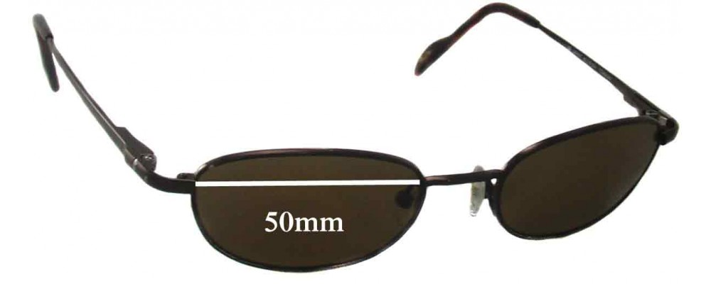Maui Jim MJ552 Replacement Sunglass Lenses - 50mm Wide