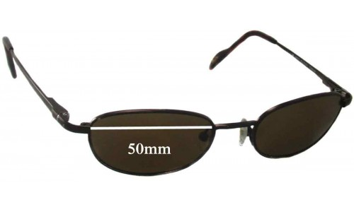 Maui Jim MJ552 Replacement Sunglass Lenses - 50mm Wide