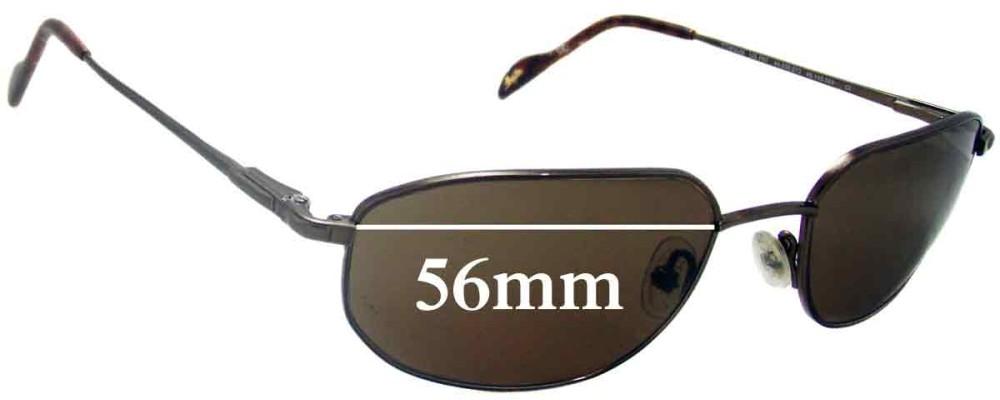 ecc2745895eb Maui Jim MJ553 Koa Replacement Sunglass Lenses - 56mm Wide