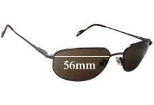 Maui Jim MJ553 Koa Replacement Sunglass Lenses - 56mm Wide