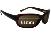 Maui Jim Lagoon MJ189 Replacement Sunglass Lenses - 61mm Wide