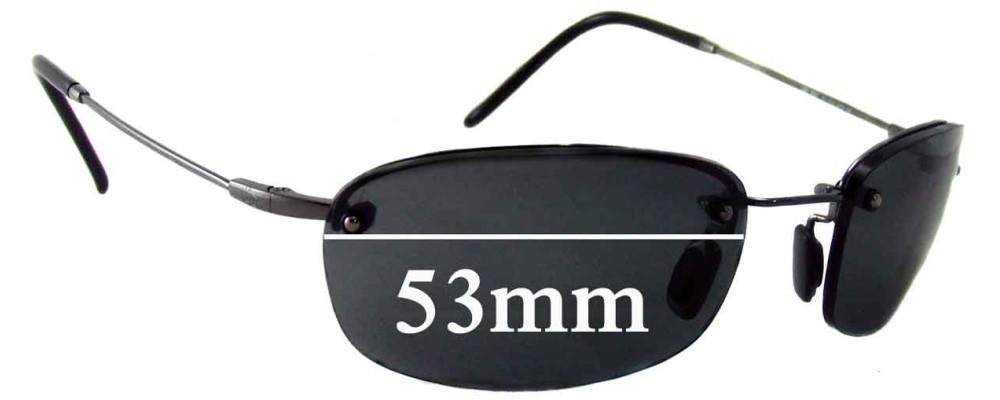 Maui Jim MJ350 Hula Replacement Sunglass Lenses - 53mm Wide