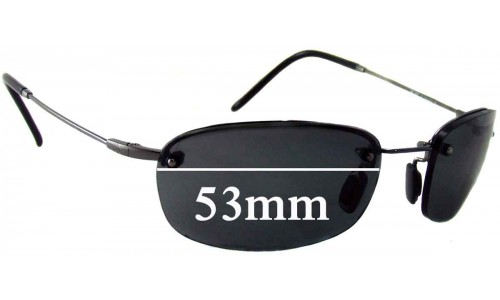 Maui Jim MJ350 Hula Replacement Sunglass Lenses - 53mm Wide