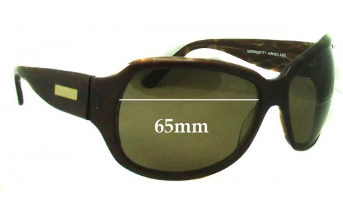 Oroton Sophisticate Replacement Sunglass Lenses - 65mm Wide