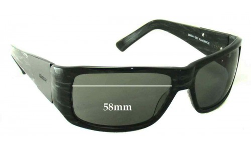 Morrissey Slipstream Replacement Sunglass Lenses - 58mm Wide