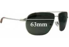Sunglass Fix New Replacement Lenses for Mosley Tribes Alliance - 63mm Wide