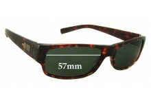 Mosley Tribes Kapelle New Sunglass Lenses - 57mm Wide