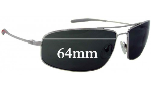 Mosley Tribes Navigator Aviator Replacement Sunglass Lenses - 64mm Wide