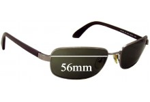 Nautica Malibu Replacement Sunglass Lenses - 56mm wide