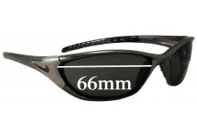 Nike Haul Replacement Sunglass Lenses - 66mm Wide