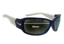 Nike Ignite EVO 575 EVO 576 EVO 578 Replacement Sunglass Lenses- 66mm Wide
