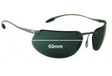 Nike Hyperion Pro II Replacement Sunglass Lenses - 60mm Wide