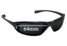 Nike Interchange Monza Replacement Sunglass Lenses - 64mm wide