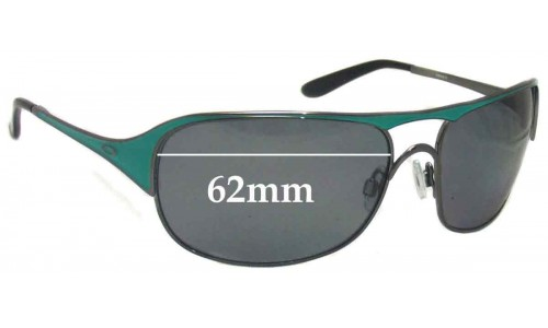 Oakley Cover Story Replacement Sunglass Lenses - 62mm wide