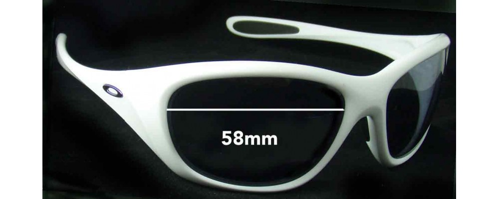 Oakley Disclosure Replacement Sunglass Lenses - 58mm wide