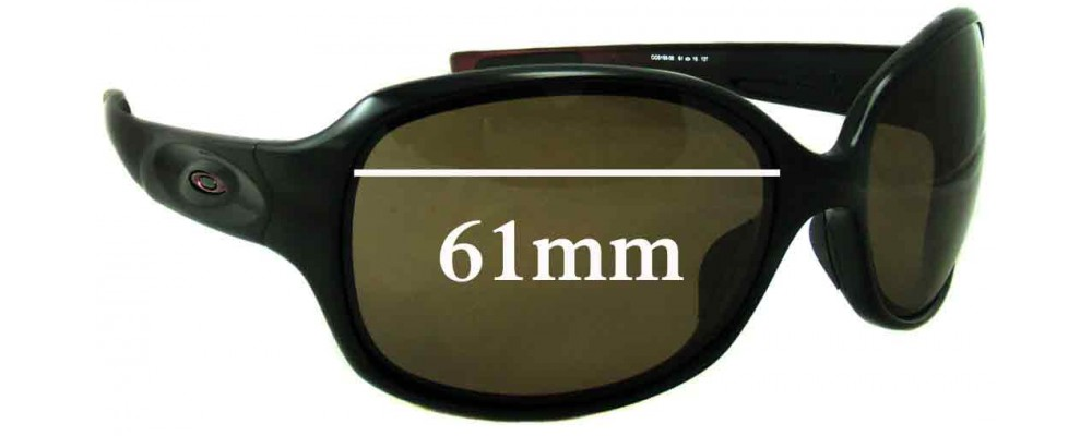 Oakley Drizzle Replacement Sunglass Lenses - 61mm Wide