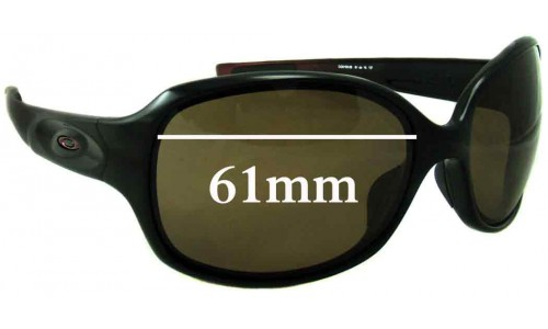 Oakley Drizzle Sunglass Replacement Lenses - 61mm Wide