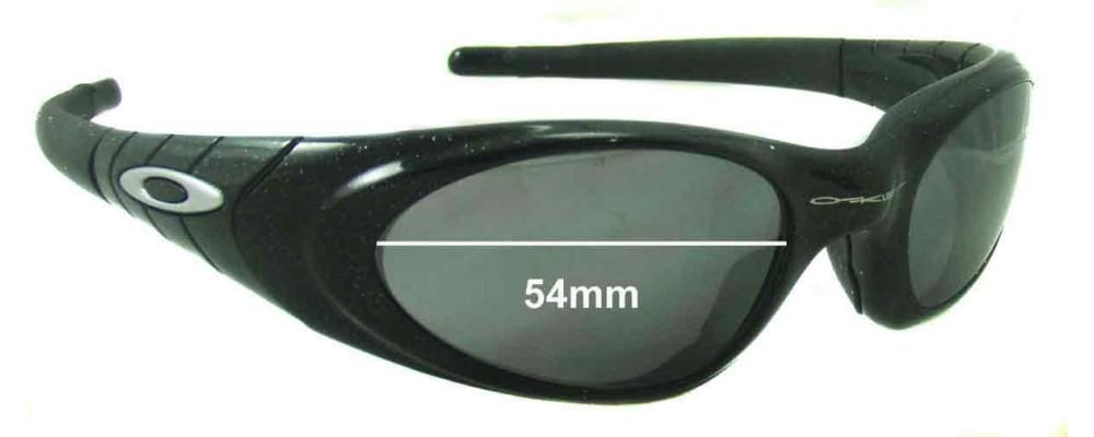 89e28f98ea Oakley Eye Jacket 2.0 Replacement Lenses - 54mm Wide
