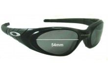 Oakley Eye Jacket 2.0 Replacement Sunglass Lenses - 54mm Wide