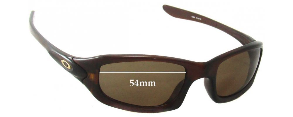 Sunglass Fix Replacement Lenses for Oakley Fives 4.0 - 54mm Wide