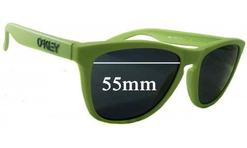 Oakley Frogskins Replacement Sunglass Lenses - 55mm Wide