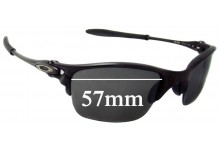 Sunglass Fix Replacement Lenses for Oakley X Metal Half-X 57mm Wide