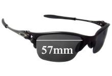 Sunglass Fix Replacement Lenses for Oakley X Metal Half-X - 57mm Wide