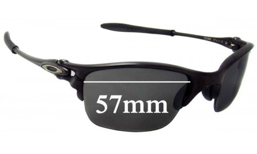 Oakley Half-X Replacement Sunglass Lenses 57mm wide
