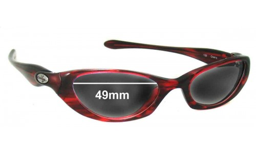 Oakley Halo Replacement Sunglass Lenses - 49mm Wide