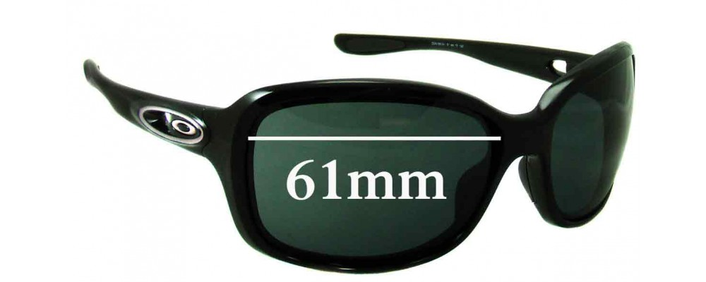 Oakley Urgency Replacement Sunglass Lenses - 61mm Wide