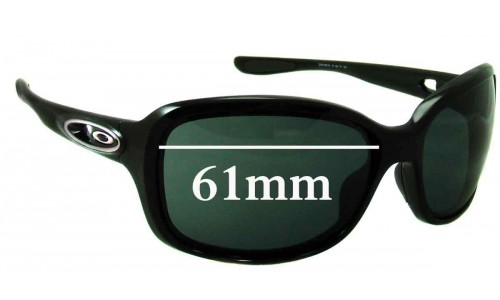 Sunglass Fix Replacement Lenses for Oakley Urgency - 61mm Wide
